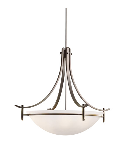 Kichler Lighting Olympia 5 Light Inverted Pendant in Olde Bronze 3279OZW photo