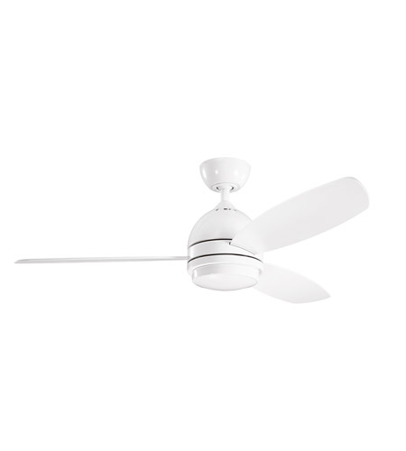 Kichler White Steel Indoor Ceiling Fans