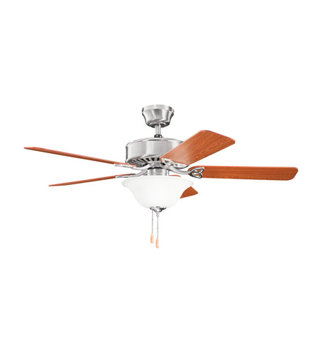 Kichler Renew Select Es 2 Light Fan in Brushed Stainless Steel 330103BSS photo