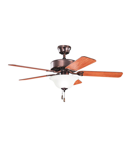 Kichler Renew Select Es 2 Light Fan in Oil Brushed Bronze 330103OBB