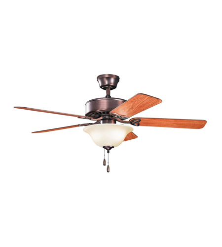 Kichler Renew Select Es 2 Light Fan in Oil Brushed Bronze 330103OBBU