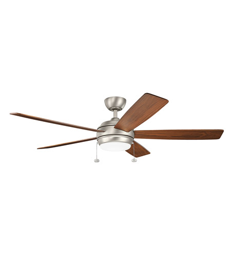 Kichler 330180ni starkk 60 inch brushed nickel with silver blades kichler 330180ni starkk 60 inch brushed nickel with silver blades ceiling fan mozeypictures Image collections