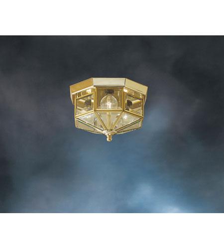 Kichler Lighting Crystal Palace 3 Light Flush Mount In Polished Br 3317pb