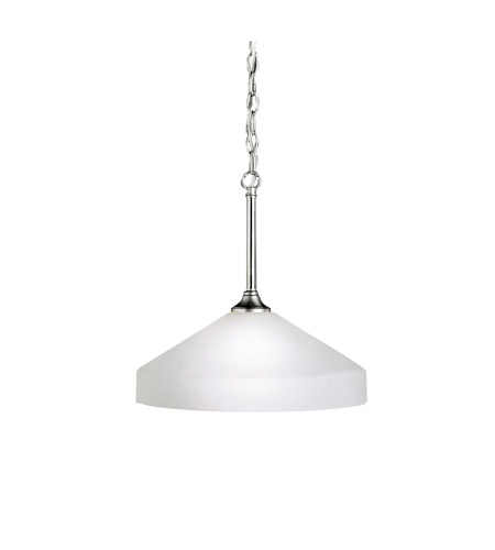 Kichler 3349NI Ansonia 1 Light 15 inch Brushed Nickel Pendant Ceiling Light photo