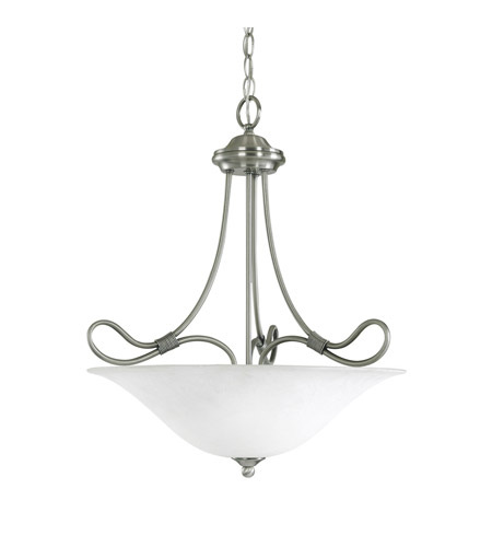 Kichler Lighting Stafford 3 Light Inverted Pendant in Antique Pewter 3356AP