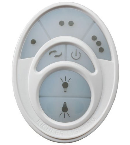 Kichler Lighting Cool Touch Control System-R800 Fan Accessory in White 337009R800