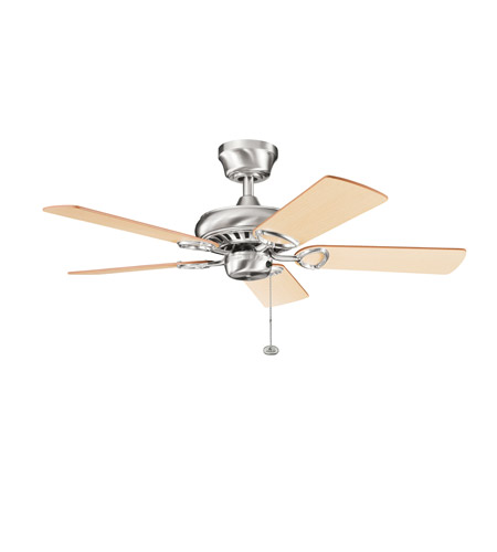 Kichler Lighting Sutter Place Fan in Brushed Stainless Steel 337013BSS photo