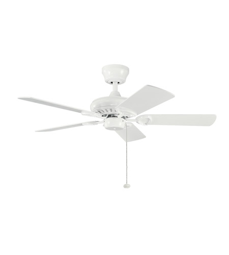 Kichler Lighting Sutter Place Fan in White 337013WH photo