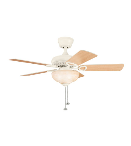Kichler Lighting Sutter Place Select 3 Light Fan in Adobe Cream 337014ADC