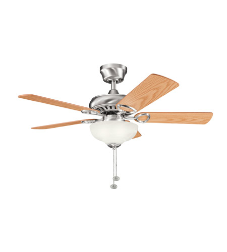 Kichler Lighting Sutter Place Select 3 Light Fan in Brushed Stainless Steel 337014BSS photo