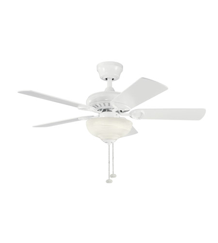 Kichler Lighting Sutter Place Select 3 Light Fan in White 337014WH