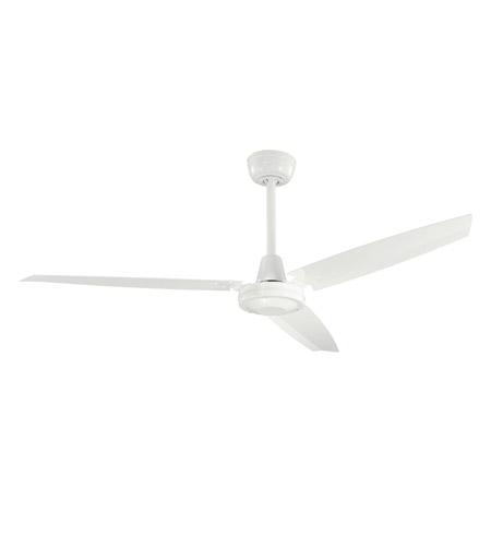 Kichler 337015WH Industrial 56 inch White Fan photo