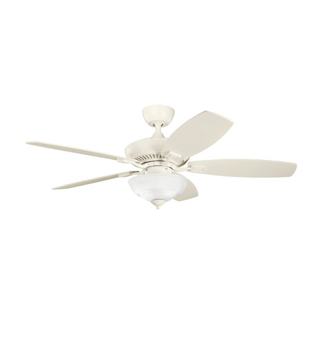 Kichler Lighting Canfield 2 Light Fan in Adobe Cream 337016ADC