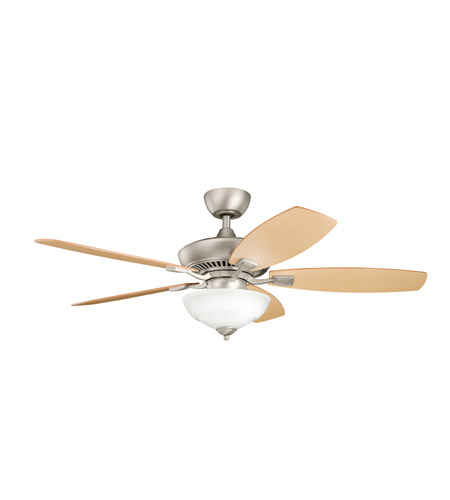 Kichler Lighting Canfield 2 Light Fan in Brushed Nickel 337016NI
