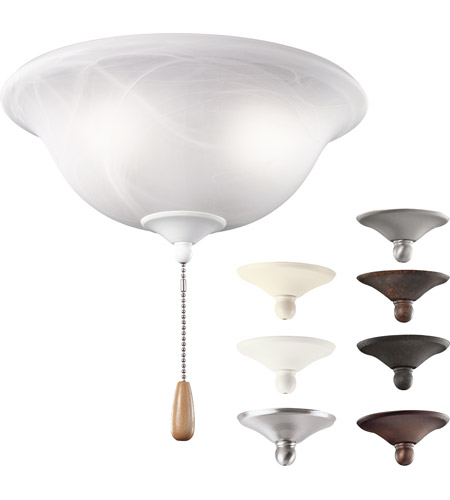Kichler Lighting Bowl 3 Light Fan Light Kit in Multiple 338500MUL