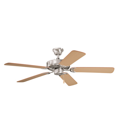 Kichler Lighting Sterling Manor Fan in Brushed Stainless Steel 339010BSS