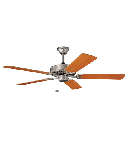 Kichler Lighting Sterling Manor Fan in Brushed Nickel 339010NI photo