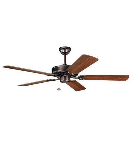 Kichler Lighting Sterling Manor Fan in Oil Brushed Bronze 339010OBB