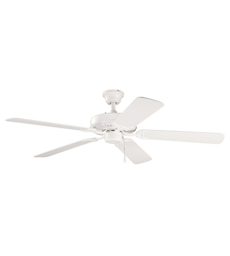 Kichler Lighting Sterling Manor Fan in Satin Natural White 339010SNW