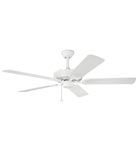 Kichler Lighting Sterling Manor Fan in White 339010WH photo