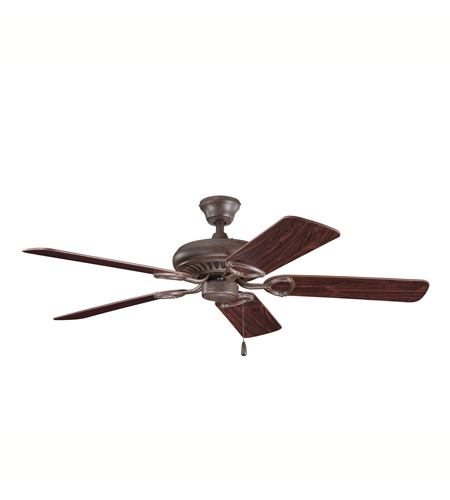 Kichler Lighting Sutter Place Fan in Tannery Bronze 339011TZ photo