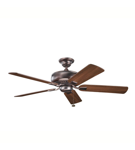 Kichler Lighting Saxon Fan in Oil Brushed Bronze 339012OBB