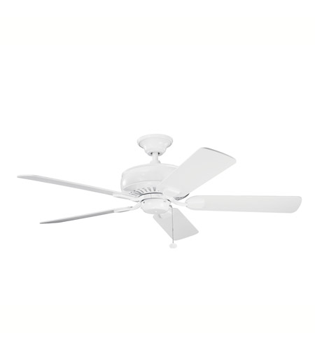 Kichler Lighting Saxon Fan in White 339012WH