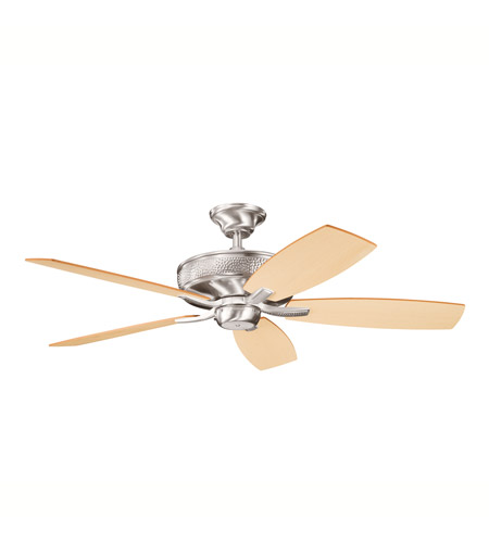 Kichler Lighting Monarch II Fan in Brushed Stainless Steel 339013BSS