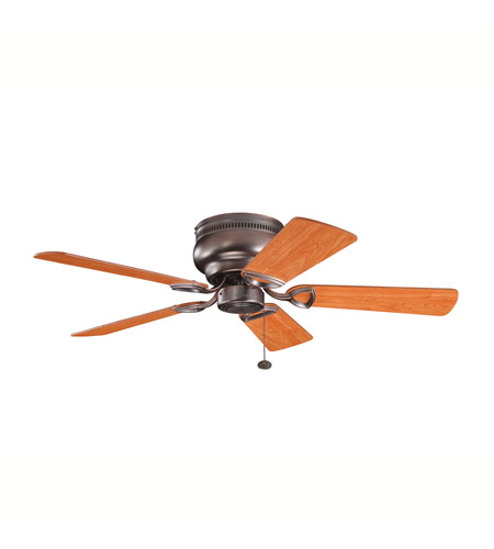 Kichler 339017OBB Stratmoor 42 inch Oil Brushed Bronze with Walnut Ms-97503 Blades Fan photo