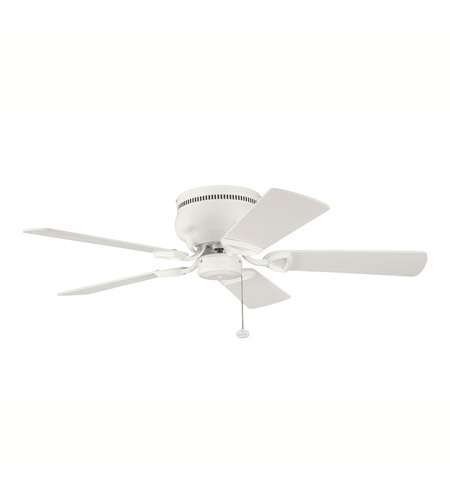 Kichler Lighting Stratmoor Fan in Satin Natural White 339017SNW