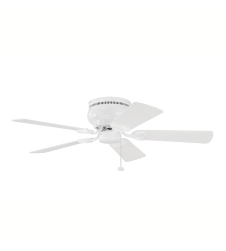 Kichler 339017WH Stratmoor 42 inch White Fan photo