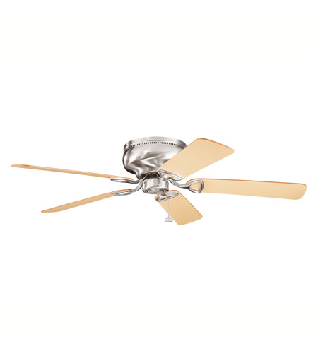 Kichler 339022BSS Stratmoor Brushed Stainless Steel with Lt Oak Ms-3590 Blades Fan photo