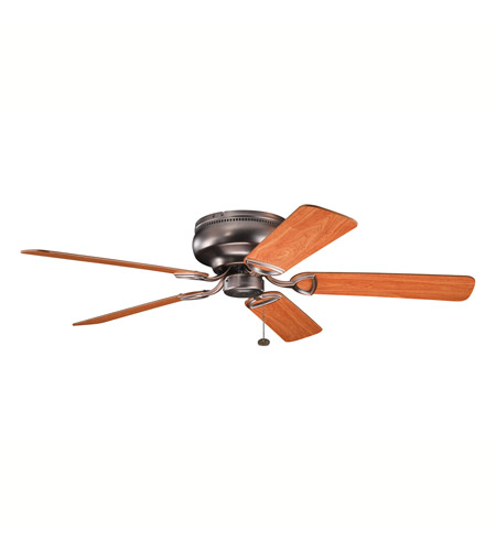 Kichler Lighting Stratmoor Fan in Oil Brushed Bronze 339022OBB