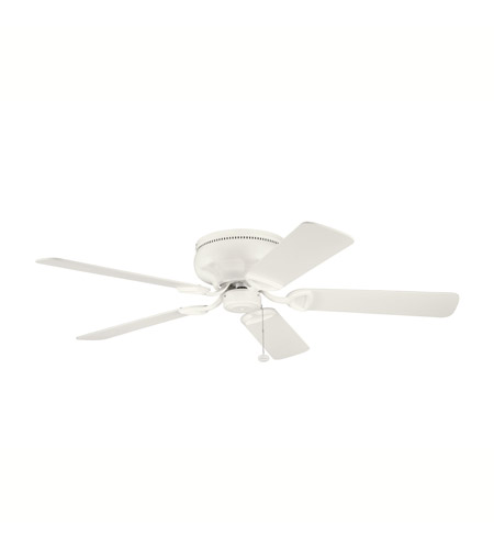 Kichler Lighting Stratmoor Fan in Satin Natural White 339022SNW photo