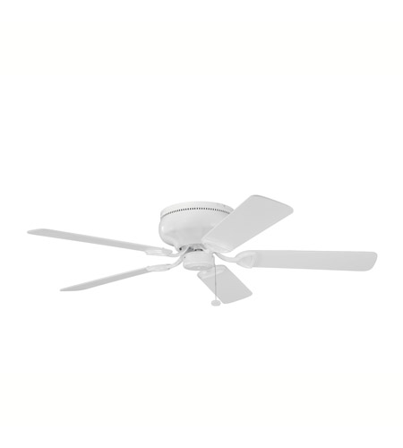 Kichler Lighting Stratmoor Fan in White 339022WH photo