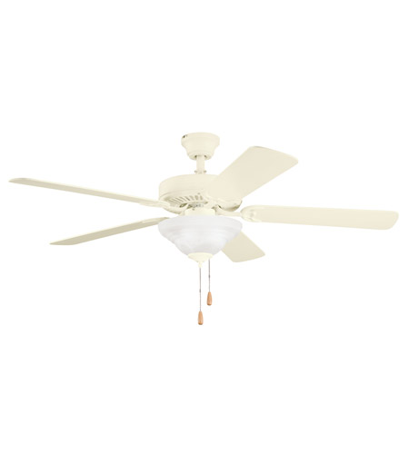 Kichler Lighting Sterling Manor Select 3 Light Fan in Adobe Cream 339210ADC