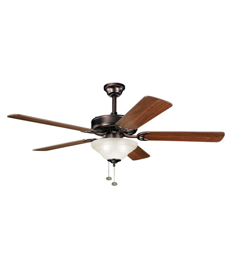 Kichler Lighting Sterling Manor Select 3 Light Fan in Oil Brushed Bronze 339210OBB photo