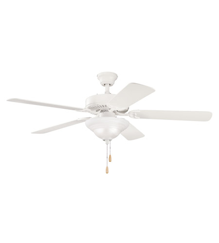 Kichler Lighting Sterling Manor Select 3 Light Fan in Satin Natural White 339210SNW