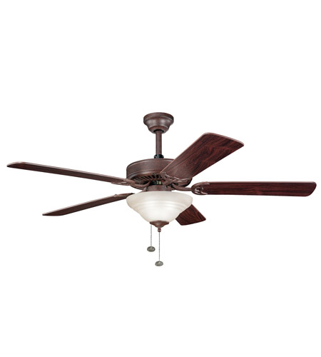Kichler Lighting Sterling Manor Select 3 Light Fan in Tannery Bronze 339210TZ