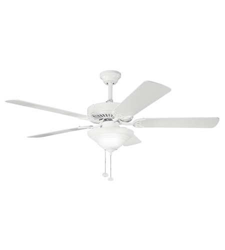 Kichler Lighting Sterling Manor Select 3 Light Fan in White 339210WH