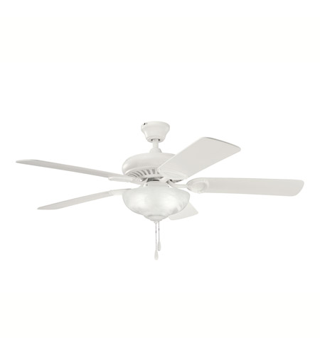 Kichler 339211SNW Sutter Place Select Satin Natural White with Sat Nat White Blades Fan  photo