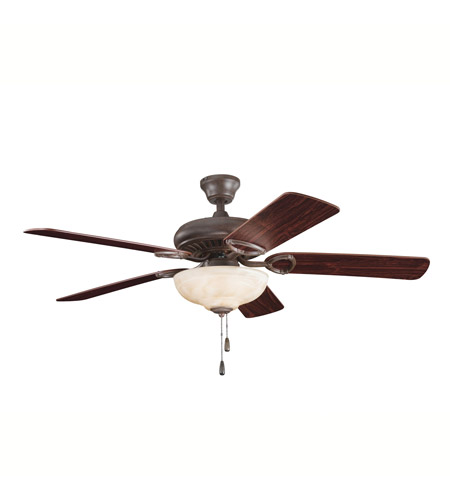 Kichler Lighting Sutter Place Select 3 Light Fan in Tannery Bronze 339211TZ photo