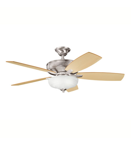 Kichler Lighting Monarch II Select 1 Light Fan in Brushed Stainless Steel 339213BSS