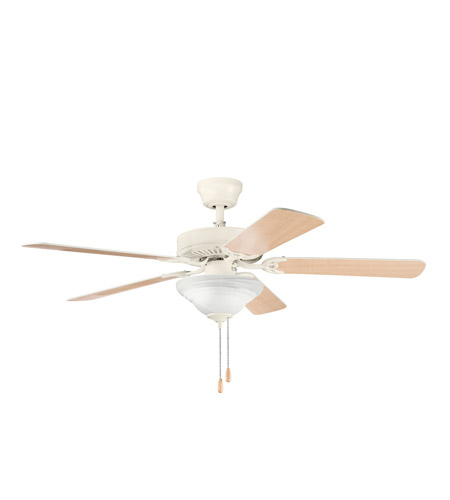 Kichler Lighting Sterling Manor Select 2 Light Fan in Adobe Cream 339220ADC
