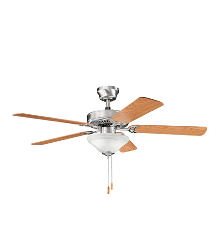 Kichler Lighting Sterling Manor Select 2 Light Fan in Brushed Stainless Steel 339220BSS photo