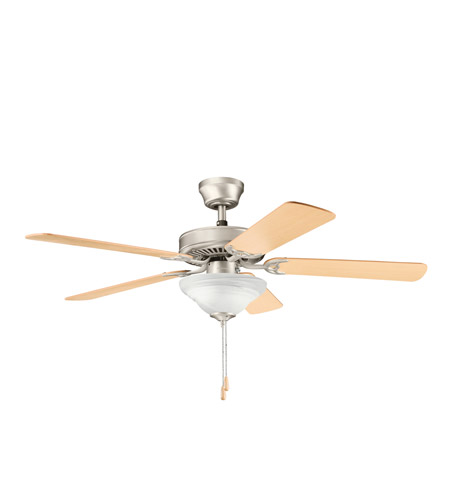 Kichler Lighting Sterling Manor Select 2 Light Fan in Brushed Nickel 339220NI