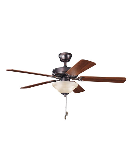 Kichler Lighting Sterling Manor Select 2 Light Fan in Oil Brushed Bronze 339220OBB