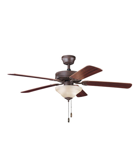 Kichler Lighting Sterling Manor Select 2 Light Fan in Tannery Bronze 339220TZ photo