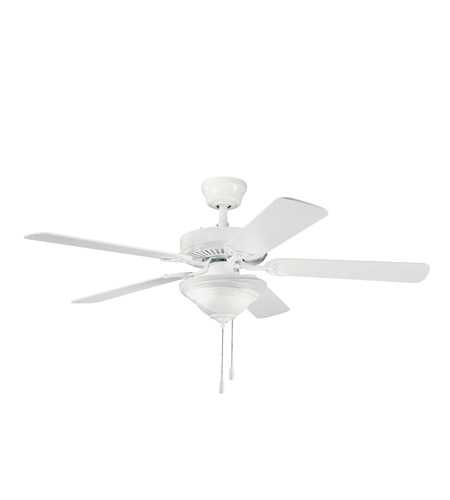 Kichler Lighting Sterling Manor Select 2 Light Fan in White 339220WH