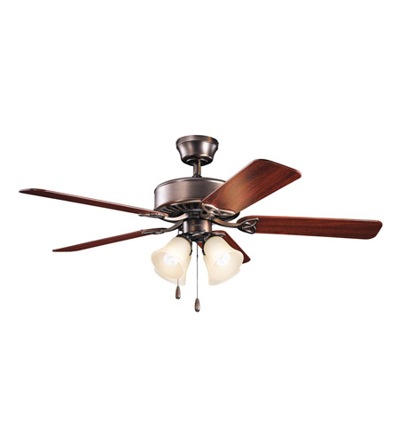 Kichler Renew Premier 4 Light Fan in Oil Brushed Bronze 339240OBBU photo